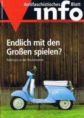 """Zur Zeitschrift """"Antifaschistisches Infoblatt Nr. 87"""" für 3,10 € gehen."""