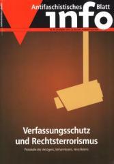 """Zur Zeitschrift """"Antifaschistisches Infoblatt Nr. 94"""" für 3,10 € gehen."""