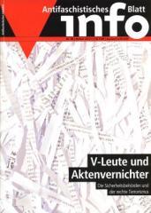 """Zur Zeitschrift """"Antifaschistisches Infoblatt Nr. 96"""" für 3,50 € gehen."""