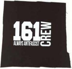 """Zum Aufnäher """"161 Crew Always Antifascist"""" für 1,46 € gehen."""