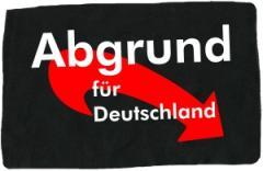 """Zum Aufnäher """"Abgrund für Deutschland"""" für 1,50 € gehen."""