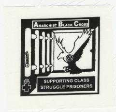 """Zum Aufnäher """"Anarchist Black Cross"""" für 1,50 € gehen."""