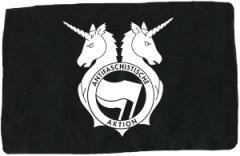 """Zum Aufnäher """"Antifa Einhorn Brigade"""" für 1,10 € gehen."""