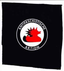 """Zum Aufnäher """"Antifaschistische Aktion (Enten)"""" für 1,50 € gehen."""