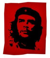 """Zum Aufnäher """"Che Guevara"""" für 1,50 € gehen."""