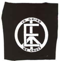 """Zum Aufnäher """"Equality - In Grind We Crust"""" für 1,50 € gehen."""
