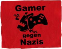 """Zum Aufnäher """"Gamer gegen Nazis"""" für 1,50 € gehen."""