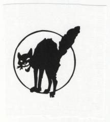 """Zum Aufnäher """"Katze"""" für 1,10 € gehen."""