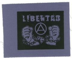 """Zum Aufnäher """"Libertad"""" für 1,10 € gehen."""