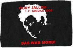 """Zum Aufnäher """"Oury Jalloh - 7. Januar 2005"""" für 1,50 € gehen."""