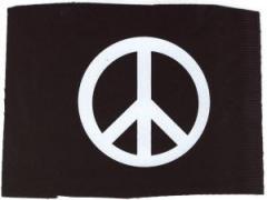 """Zum Aufnäher """"Peacezeichen"""" für 1,50 € gehen."""