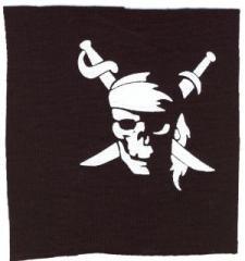 """Zum Aufnäher """"Pirate"""" für 1,10 € gehen."""