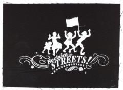 """Zum Aufnäher """"Reclaim the Streets"""" für 1,50 € gehen."""