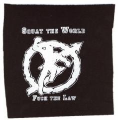 """Zum Aufnäher """"Squat the world"""" für 1,46 € gehen."""