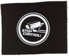 """Zum Aufnäher """"Stop Control Kamera"""" für 1,50 € gehen."""
