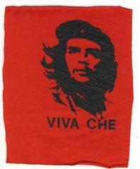 """Zum Aufnäher """"Viva Che Guevara"""" für 1,50 € gehen."""