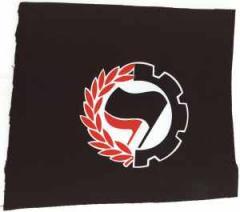 """Zum Aufnäher """"Working Class Antifa"""" für 1,10 € gehen."""