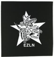 """Zum Aufnäher """"Zapatistas Stern EZLN"""" für 1,50 € gehen."""