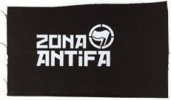 """Zum Aufnäher """"Zona Antifa"""" für 1,50 € gehen."""