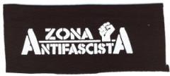 """Zum Aufnäher """"Zona Antifascista"""" für 1,50 € gehen."""