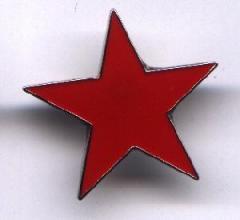 """Zum Anstecker / Pin """"Roter Stern"""" für 3,00 € gehen."""