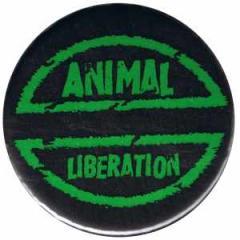 """Zum 50mm Button """"Animal Liberation"""" für 1,20 € gehen."""