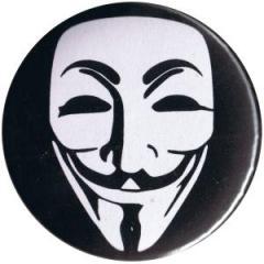 """Zum 50mm Button """"Anonymous"""" für 1,20 € gehen."""