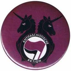 """Zum 50mm Button """"Antifa Einhorn Brigade"""" für 1,20 € gehen."""