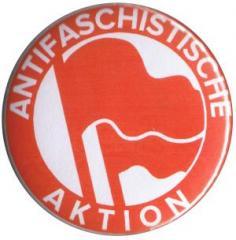 """Zum 50mm Button """"Antifaschistische Aktion (1932, rot/rot)"""" für 1,20 € gehen."""