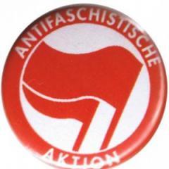"""Zum 50mm Button """"Antifaschistische Aktion (rot/rot)"""" für 1,20 € gehen."""