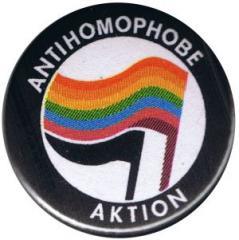 """Zum 50mm Button """"Antihomophobe Aktion"""" für 1,17 € gehen."""