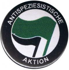 """Zum 50mm Button """"Antispeziesistische Aktion (grün/schwarz)"""" für 1,20 € gehen."""