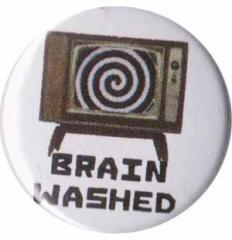 """Zum 50mm Button """"Brain washed"""" für 1,20 € gehen."""