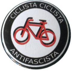"""Zum 50mm Button """"Ciclista Ciclista Antifascista"""" für 1,20 € gehen."""