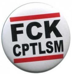 """Zum 50mm Button """"FCK CPTLSM"""" für 1,17 € gehen."""