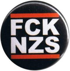 """Zum 50mm Button """"FCK NZS"""" für 1,20 € gehen."""