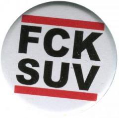 """Zum 50mm Button """"FCK SUV"""" für 1,20 € gehen."""