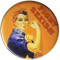 """Zum 50mm Button """"Fight sexism"""" für 1,20 € gehen."""
