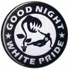 """Zum 50mm Button """"Good night white pride - Pflanze"""" für 1,20 € gehen."""