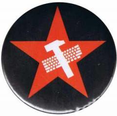 """Zum 50mm Button """"Hammer und Tastatur Stern"""" für 1,20 € gehen."""