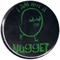 """Zum 50mm Button """"I am not a nugget"""" für 1,20 € gehen."""