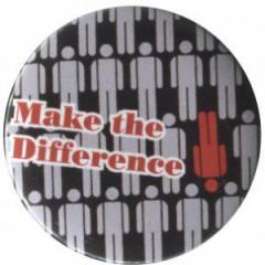 """Zum 50mm Button """"Make the difference"""" für 1,17 € gehen."""