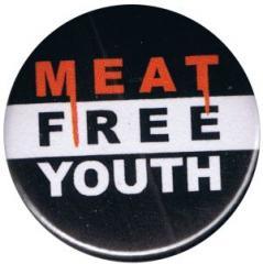 """Zum 50mm Button """"Meat Free Youth"""" für 1,20 € gehen."""