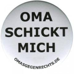 """Zum 50mm Button """"Oma schickt mich"""" für 1,20 € gehen."""