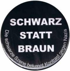 """Zum 50mm Button """"Schwarz statt Braun"""" für 1,20 € gehen."""