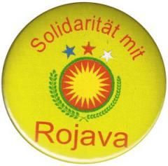 """Zum 50mm Button """"Solidarität mit Rojava"""" für 1,20 € gehen."""