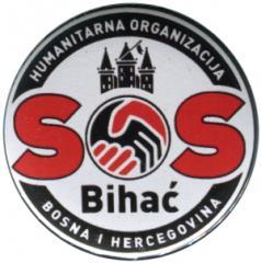 """Zum 50mm Button """"SOS Bihac"""" für 1,36 € gehen."""