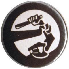 """Zum 50mm Button """"Stoppt Polizeigewalt"""" für 1,17 € gehen."""