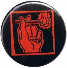 """Zum 50mm Button """"Streichholz"""" für 1,20 € gehen."""