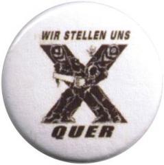"""Zum 50mm Button """"Wir stellen uns quer"""" für 1,17 € gehen."""